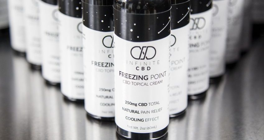 PRODUCT REVIEW OF INFINITE CBD FREEZING POINT CREAM